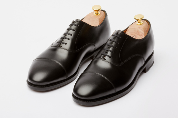 The Oxford - Black Calf