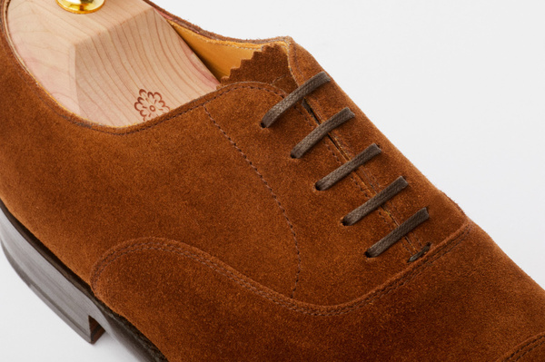 The Oxford - Medium Brown Suede