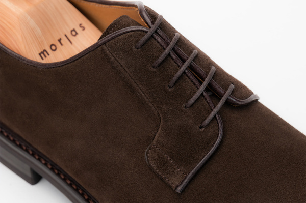 The Plain Toe Blucher - Brown Suede