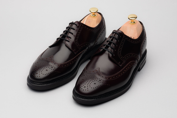 The Derby - Burgundy Calf
