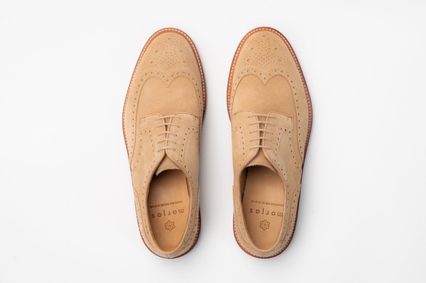 The Derby - Sand Suede