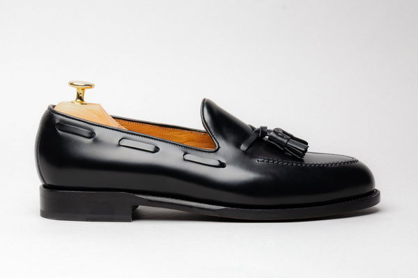 The Tassel Loafer - Black Calf