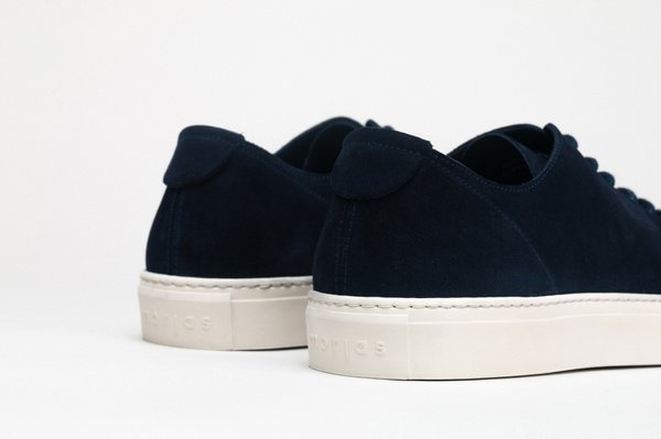 The Sneaker - Navy Suede