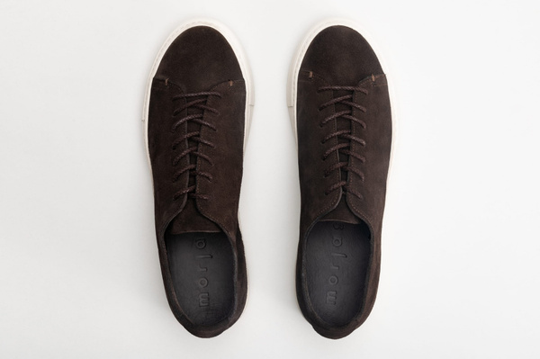 The Sneaker - Brown Suede