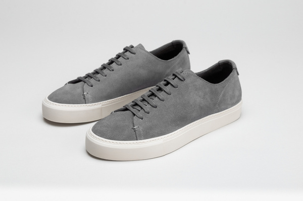 The Sneaker - Grey Suede