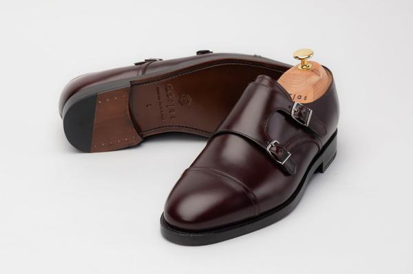 The Double Monkstrap - Brown Calf