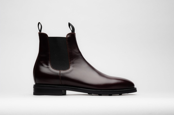 The Chelsea - Burgundy Calf
