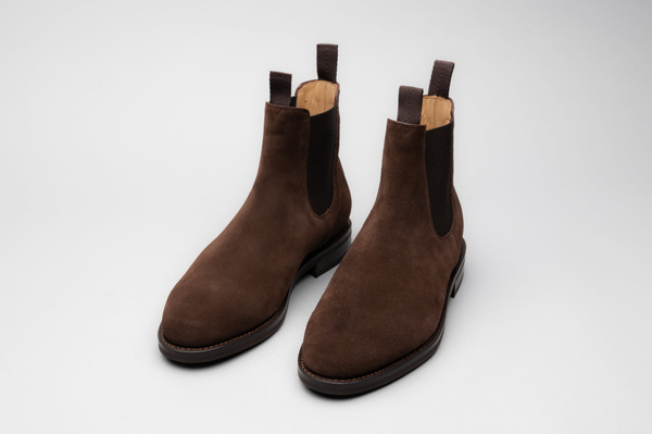 The Chelsea - Brown Suede