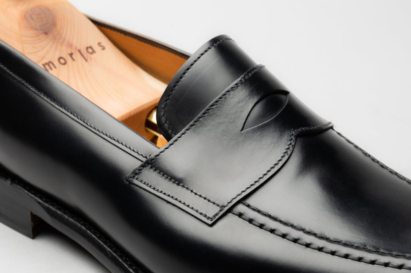 The Penny Loafer - Black Calf