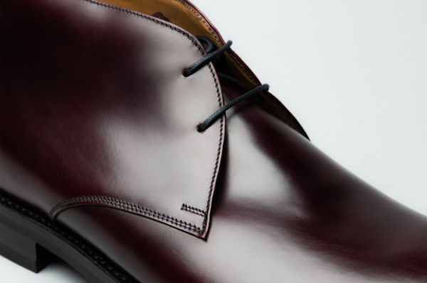 The Chukka - Burgundy Calf