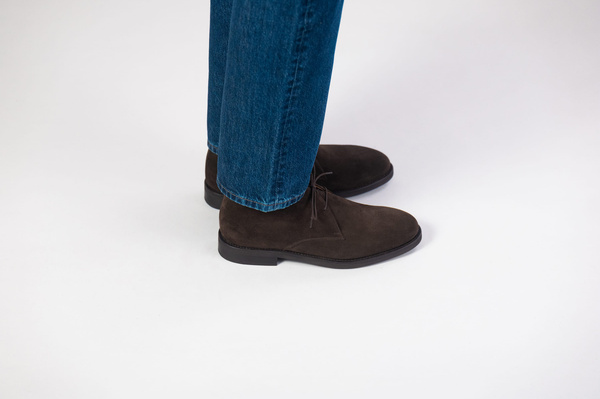 The Chukka - Brown Suede