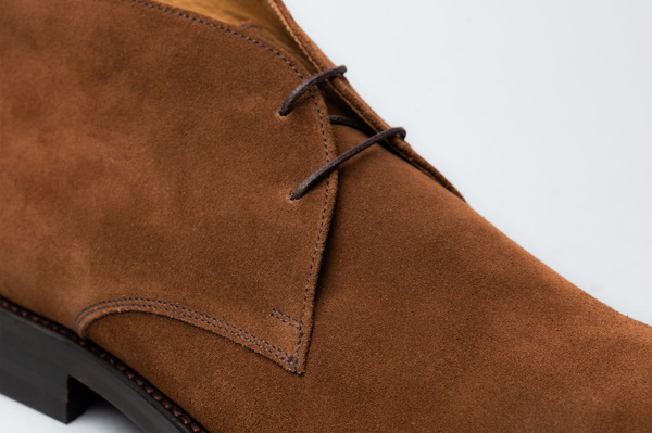 The Chukka - Medium Brown Suede