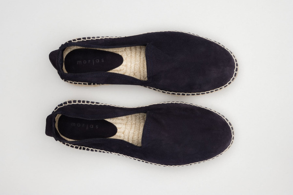 The Espadrille - Navy Suede