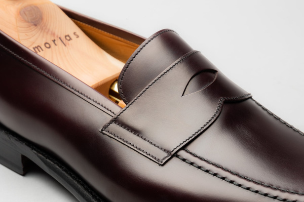 The Penny Loafer - Burgundy Calf