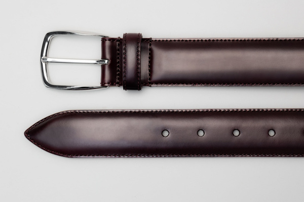 The Belt - Burgundy Calf