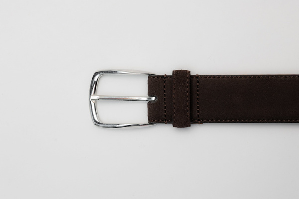 The Belt - Brown Suede