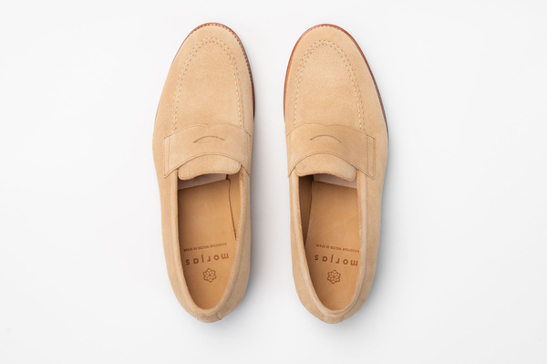 The Penny Loafer - Sand Suede