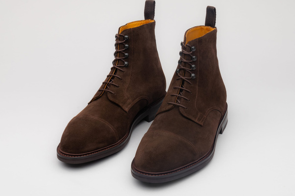 The Jumper Boot - Brown Suede