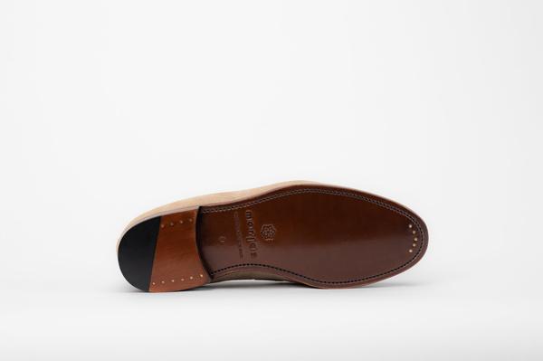 The Tassel Loafer - Sand Suede